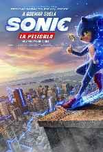 miniatura Sonic La Pelicula V2 Por Chechelin cover carteles
