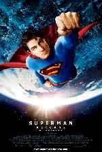 miniatura Superman Returns El Regreso V4 Por Franvilla cover carteles