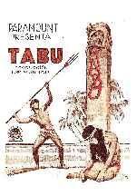 miniatura Tabu 1931 V2 Por Peppito cover carteles