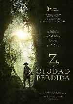 miniatura Z La Ciudad Perdida Por Chechelin cover carteles