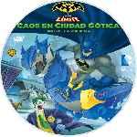 miniatura Batman Sin Limite Caos En Ciudad Gotica Custom V2 Por Mrandrewpalace cover cd