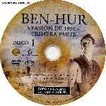 miniatura Ben Hur 1959 Disco 01 Por Malevaje cover cd