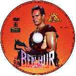 miniatura Ben Hur 1959 Disco 02 Custom Por Zeromoi cover cd