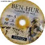 miniatura Ben Hur 1959 Disco 03 Por Malevaje cover cd