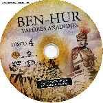 miniatura Ben Hur 1959 Disco 04 Por Malevaje cover cd