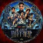 miniatura Black Panther 2018 Custom V7 Por Ferozbbb cover cd