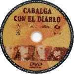 miniatura Cabalga Con El Diablo Por Scarlata cover cd