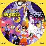 miniatura Caballeros Del Zodiaco La Leyenda De Los Santos Escarlata El Guerrero De Arm Por Menta cover cd
