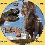 miniatura Caminando Entre Dinosaurios 2013 Custom Por Menta cover cd