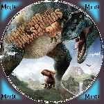 miniatura Caminando Entre Dinosaurios 2013 Custom V2 Por Menta cover cd