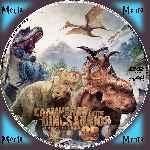 miniatura Caminando Entre Dinosaurios 2013 Custom V3 Por Menta cover cd