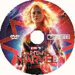 miniatura Capitana Marvel Custom Por Franvilla cover cd