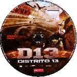 miniatura D13 Distrito 13 Por Eltamba cover cd