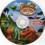 miniatura Dinotren Gigantes Y Pequenos Dinosaurios Region 4 Por Richardgs cover cd