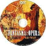 miniatura El Fantasma De La Opera 1925 Por Scarlata cover cd