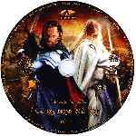 miniatura El Senor De Los Anillos El Retorno Del Rey Disco 02 Custom Por Zeromoi cover cd