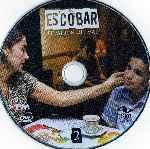 miniatura Escobar El Patron Del Mal Disco 02 Por Wallace2007 cover cd