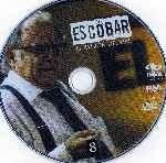 miniatura Escobar El Patron Del Mal Disco 08 Por Wallace2007 cover cd