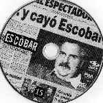 miniatura Escobar El Patron Del Mal Disco 15 Por Wallace2007 cover cd