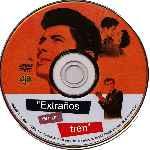 miniatura Extranos En Un Tren Por Jmandrada cover cd