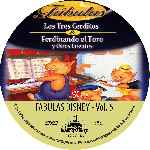 miniatura Fabulas De Disney Volumen 05 Custom Por Putho cover cd