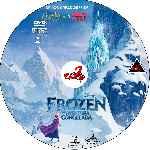 miniatura Frozen Una Aventura Congelada Custom Por Corsariogris cover cd