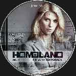 miniatura Homeland Temporada 01 Disco 01 Custom Por Analfabetix cover cd