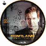 miniatura Homeland Temporada 01 Disco 02 Custom V2 Por Jsesma cover cd