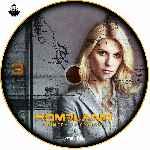 miniatura Homeland Temporada 01 Disco 03 Custom V2 Por Jsesma cover cd
