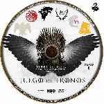 miniatura Juego De Tronos Disco 01 Custom Por Jsesma cover cd