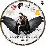 miniatura Juego De Tronos Disco 02 Custom Por Jsesma cover cd