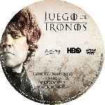 miniatura Juego De Tronos Temporada 02 Disco 05 Custom V2 Por Darioarg cover cd