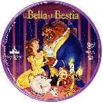 miniatura La Bella Y La Bestia Clasicos Disney Custom V2 Por Atrab cover cd