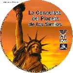 miniatura La Conquista Del Planeta De Los Simios Custom V2 Por Tiroloco cover cd