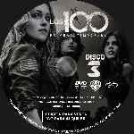 miniatura Los 100 Temporada 01 Disco 03 Custom Por Analfabetix cover cd