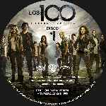 miniatura Los 100 Temporada 02 Disco 01 Custom Por Analfabetix cover cd