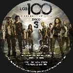 miniatura Los 100 Temporada 02 Disco 03 Custom Por Analfabetix cover cd
