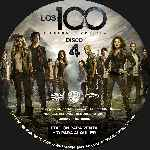 miniatura Los 100 Temporada 02 Disco 04 Custom Por Analfabetix cover cd
