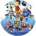 miniatura Los Superheroes Custom Por Putho cover cd