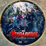 miniatura Los Vengadores 2 La Era De Ultron Custom 10 Por Chaladuras cover cd