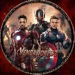 miniatura Los Vengadores 2 La Era De Ultron Custom Por Ferozbbb cover cd