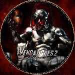miniatura Los Vengadores 2 La Era De Ultron Custom V02 Por Ferozbbb cover cd