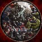 miniatura Los Vengadores 2 La Era De Ultron Custom V03 Por Ferozbbb cover cd