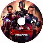 miniatura Los Vengadores 2 La Era De Ultron Custom V05 Por Franvilla cover cd