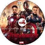 miniatura Los Vengadores 2 La Era De Ultron Custom V06 Por Corsariogris cover cd