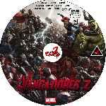 miniatura Los Vengadores 2 La Era De Ultron Custom V07 Por Corsariogris cover cd