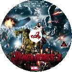 miniatura Los Vengadores 2 La Era De Ultron Custom V09 Por Corsariogris cover cd