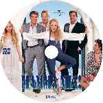 miniatura Mamma Mia La Pelicula Custom V4 Por Eltamba cover cd