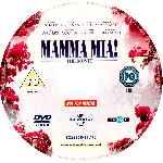 miniatura Mamma Mia La Pelicula V2 Por Eltamba cover cd