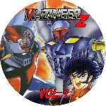 miniatura Mazinger Z Dvd 01 Custom Por Ronald Arevalo cover cd